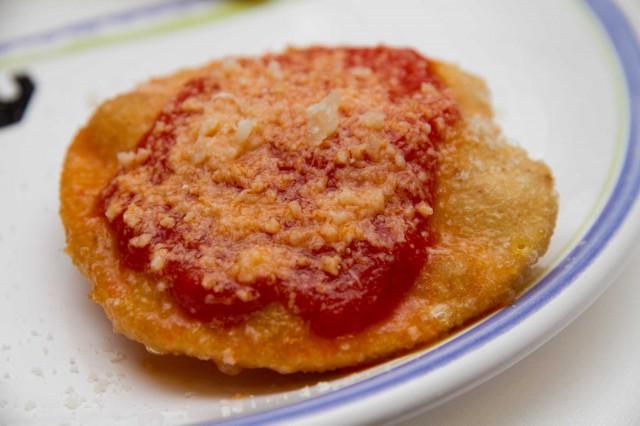 pizza fritta Osteria Torre di Mare Paestum