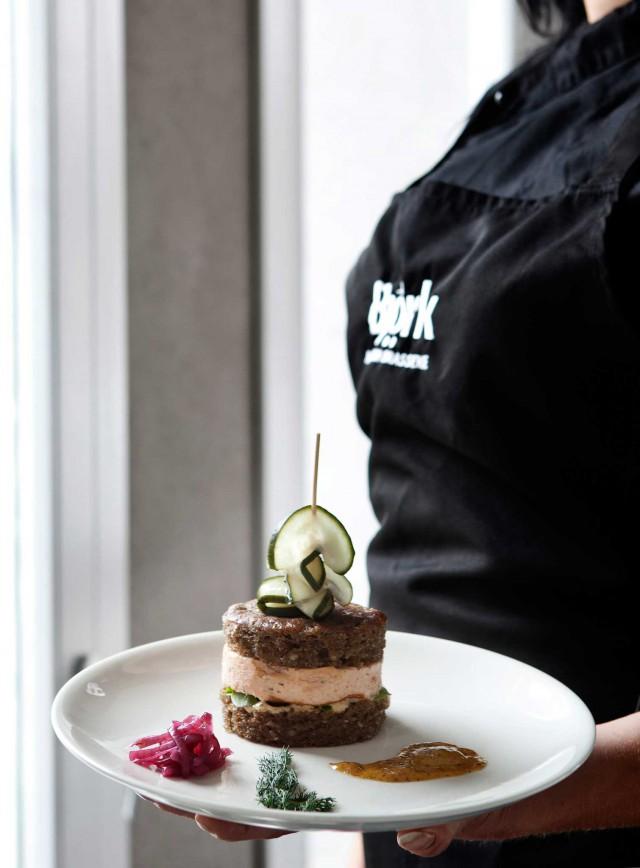 Bjork Swedish Brasserie piatto