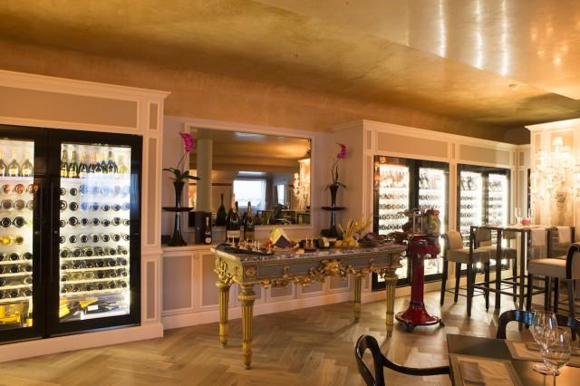 Danieli wine suite cantina