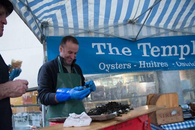 Dublino Temple Bar oysters