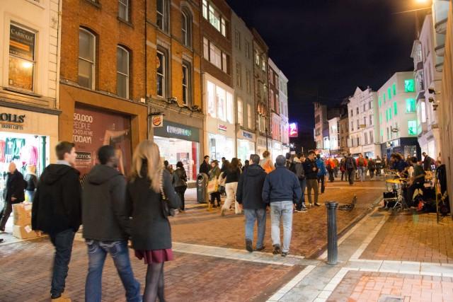 Dublino di sera