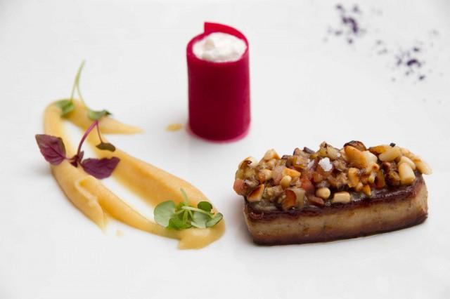 Foie gras in autunno