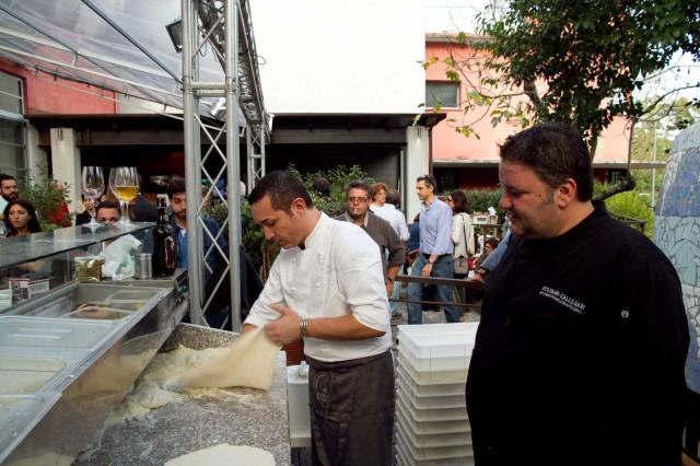 Gino Sorbillo e Stefano Callegari