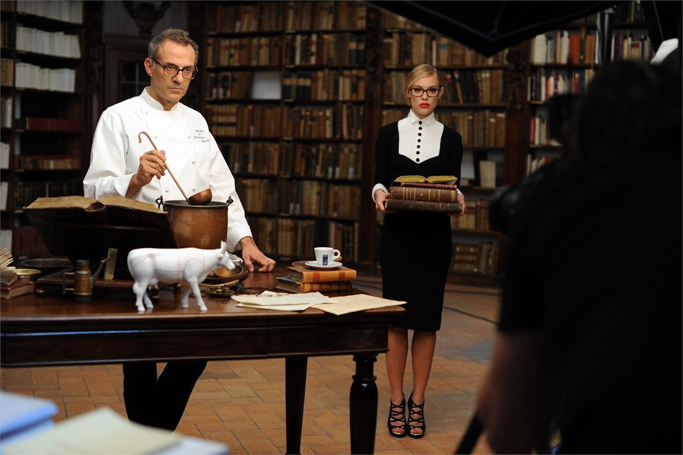 Le foto del calendario lavazza 2014 con i grandi chef - Chef titanium con voz ...