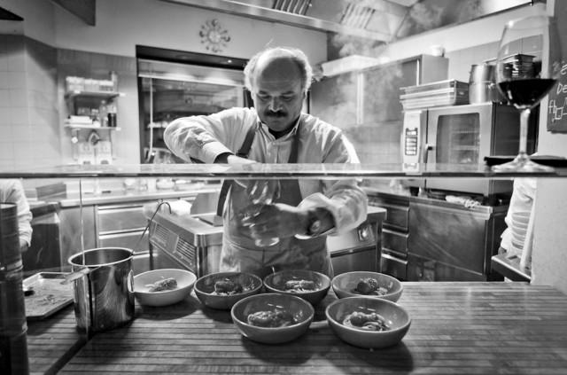 Oscar Farinetti cucina