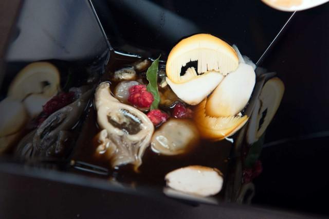 Ostriche e funghi porcini