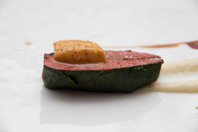 Piccione e foie gras