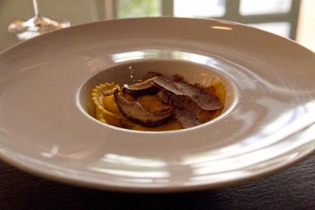 Ravioli porcini tartufo