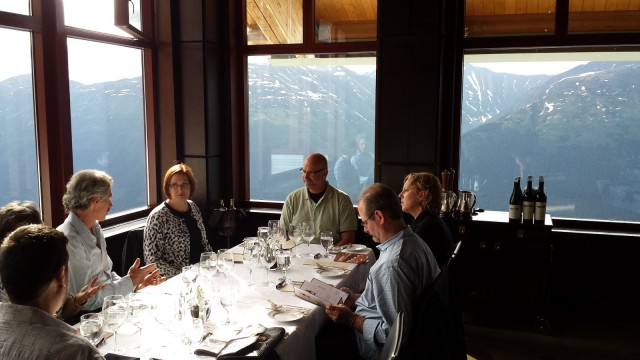 Robert Mondavi Wine Dinner at Seven Glaciers