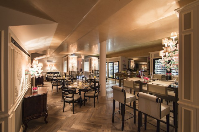 Sala vino hotel Danieli a Venezia