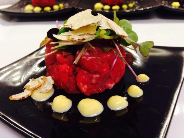 chianina tartufo zabaione di carbonara Rugiati