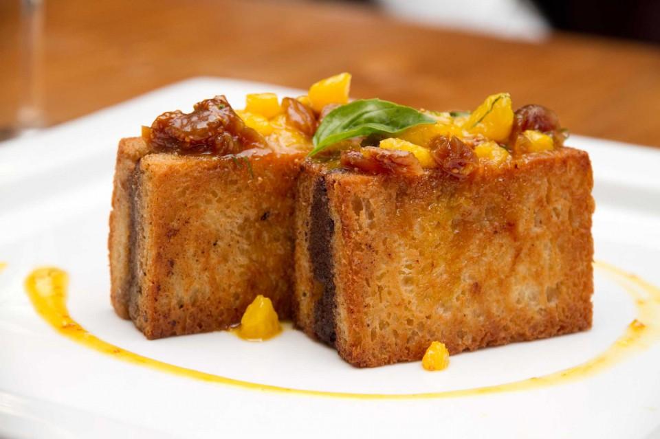 fegatino di pollo foie gras al Santo Graal