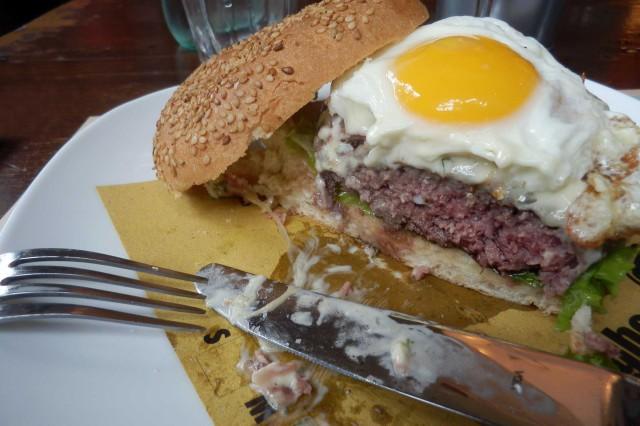 hamburger taglio Baladin Milano