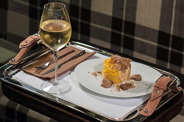 vino bianco e tartufo