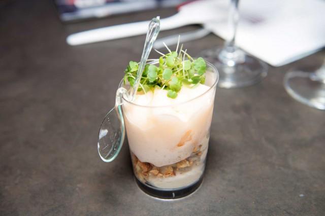 yogurt di foie gras