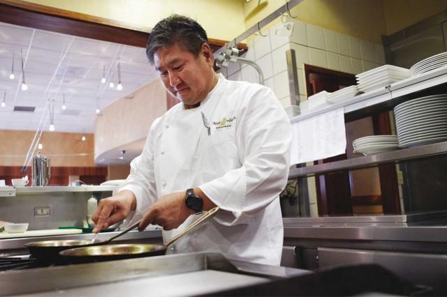 Alan Wong chef