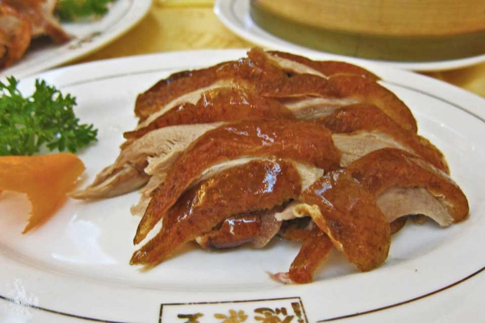 Anatra alla Pechinese, Quanjude, Pechino