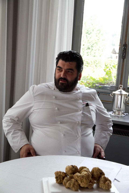 Antonino Cannavacciuolo tartufi
