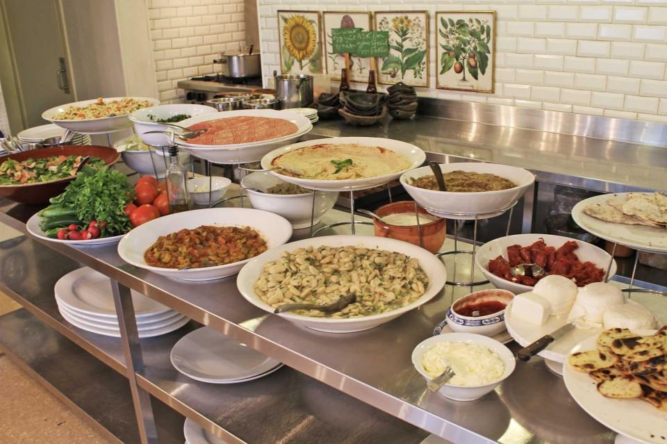 Il pranzo al souk El Tayeb,Tawlet, Beirut