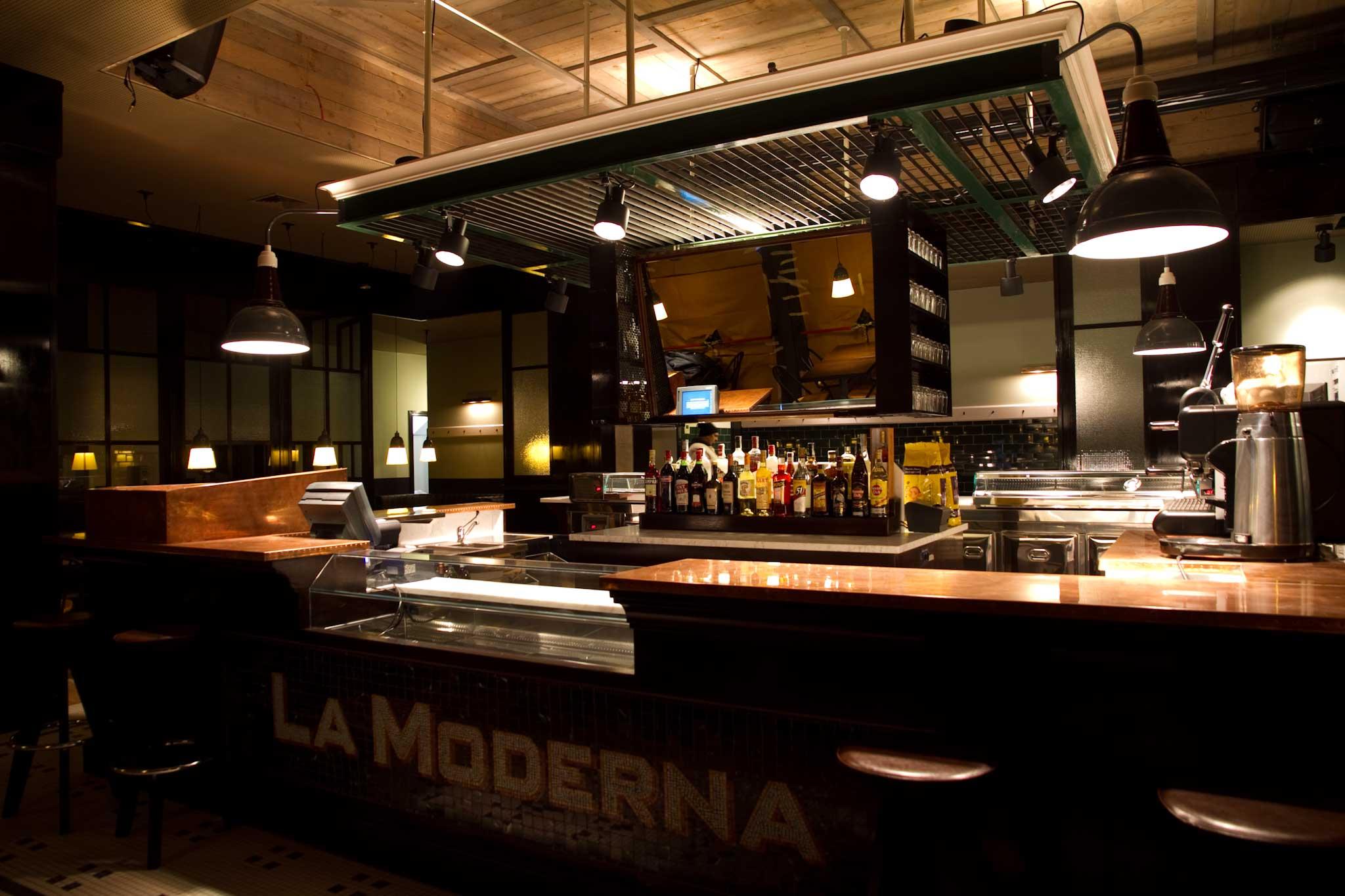 Roma la moderna che apre a testaccio in stile retr foto for La cucina moderna wikipedia