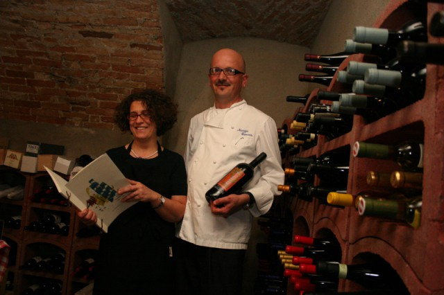 Maurizio e Sabrina Quaranta ristorante Speranza