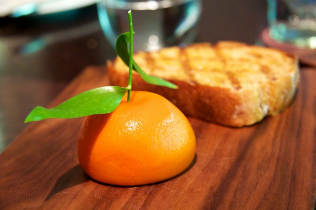 Foie Gras Heston Blumenthal Dinner
