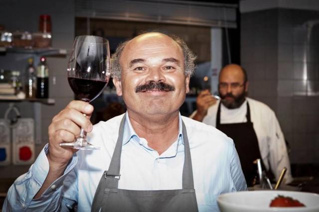 Oscar Farinetti calice vino