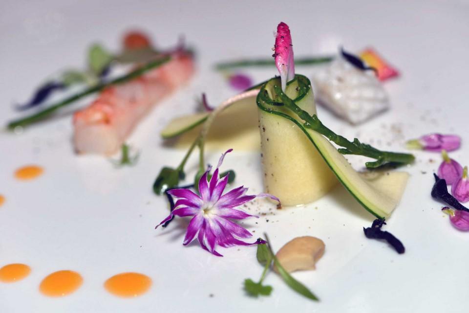 Salada de abobrinha caipira