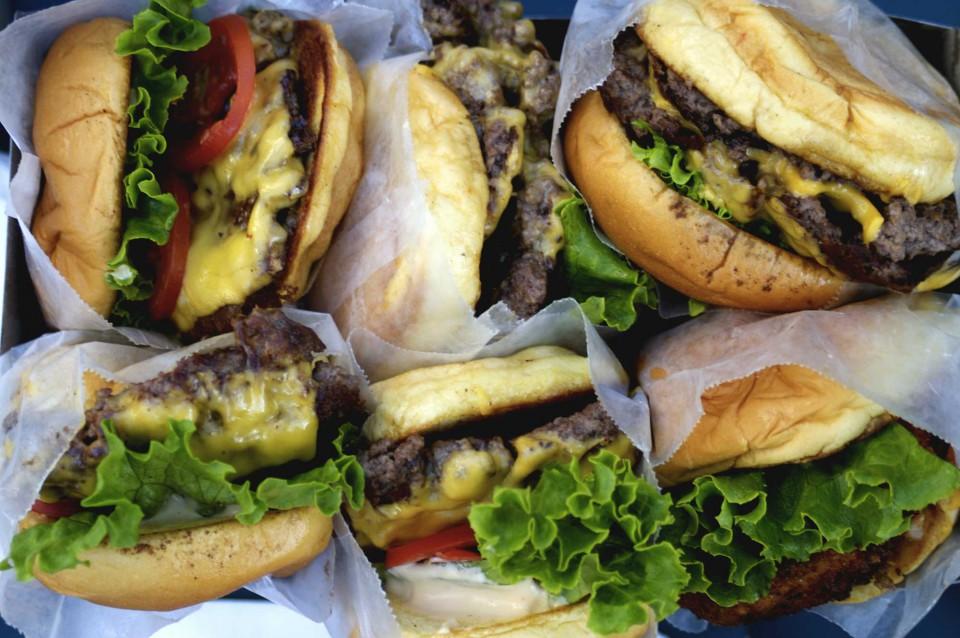 Shake Shack Hamburger New York