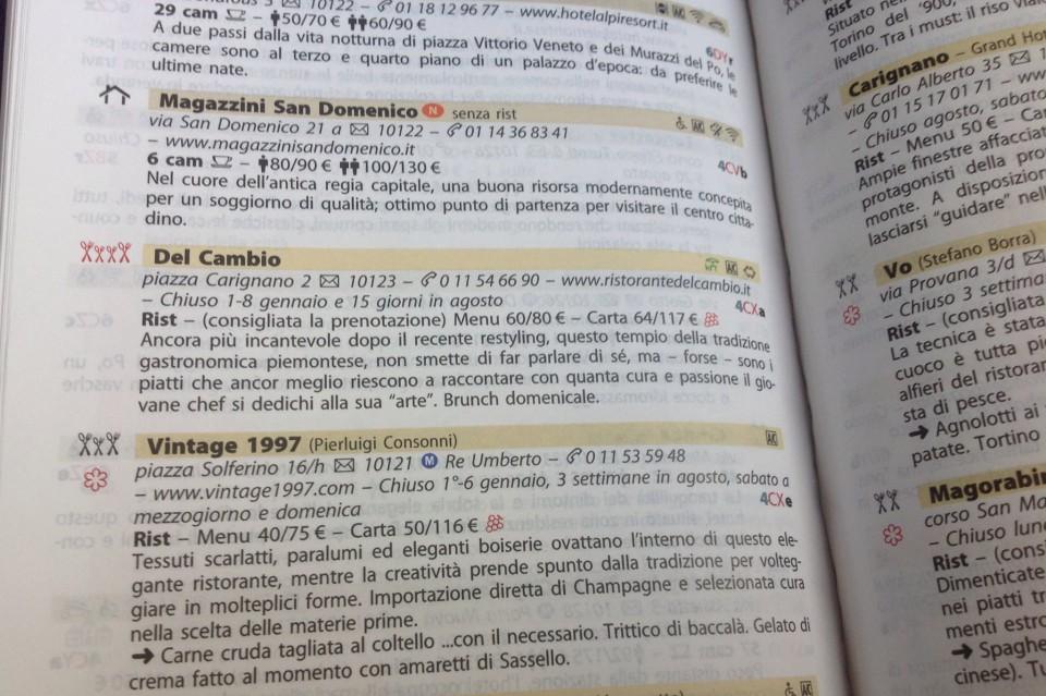 Cambio michelin Torino