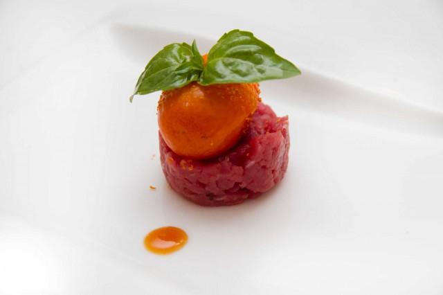 kumquat di foie gras