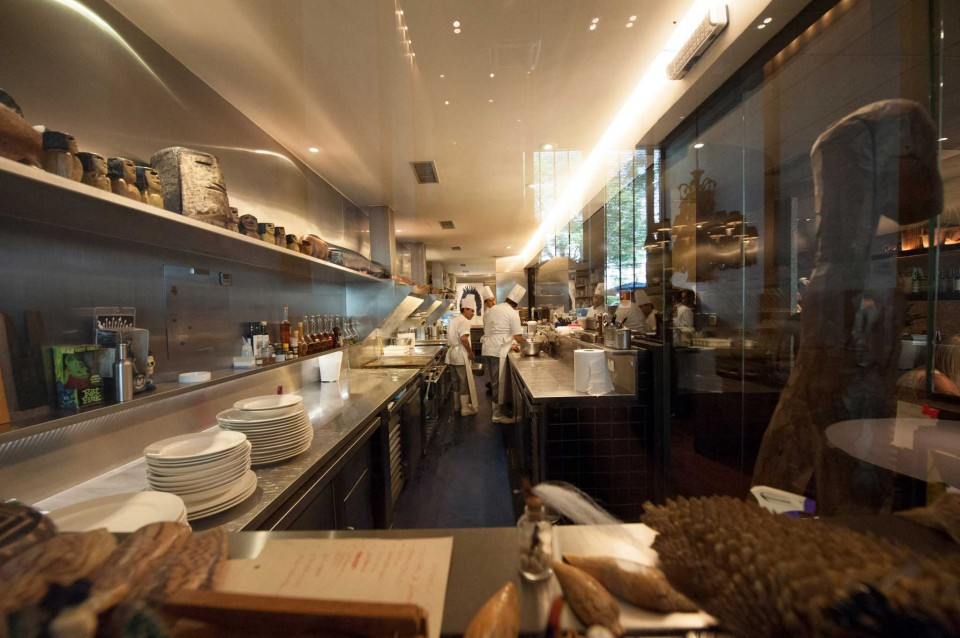 la cucina del Dom di Alex Atala
