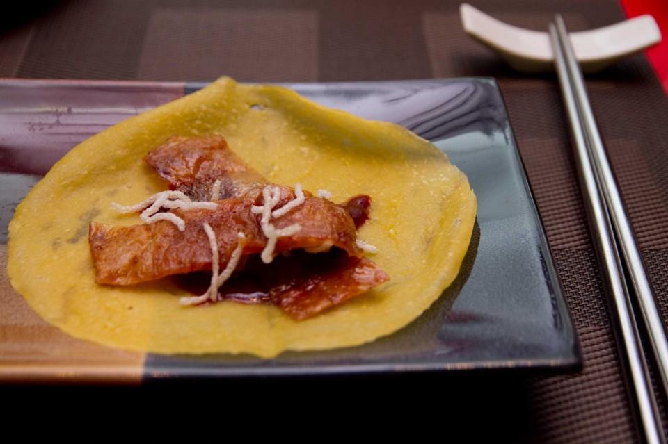 piadina con anatra laccata