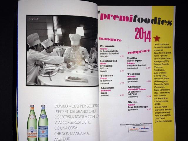 premi foodies 2014