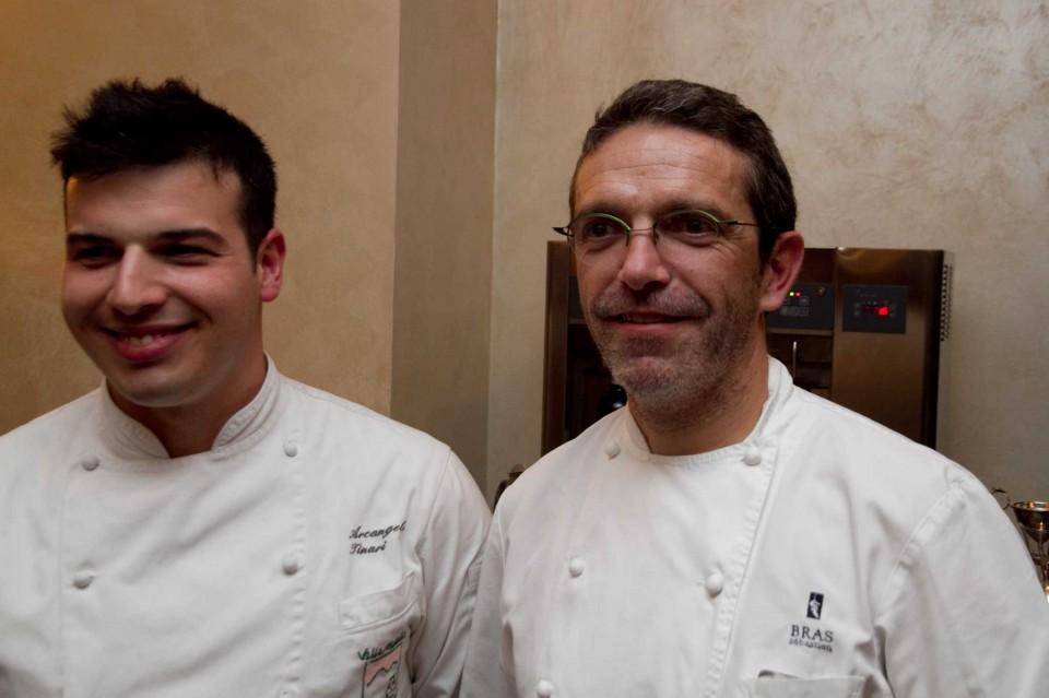 Arcangelo Tinari e Sébastien Bras