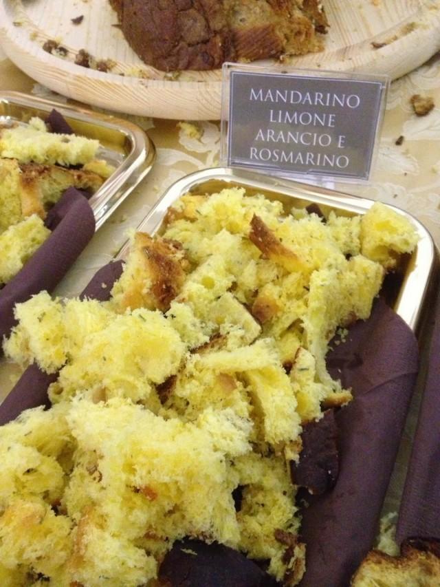 Panettone mandarino limone rosmarino Vincenzo Tiri