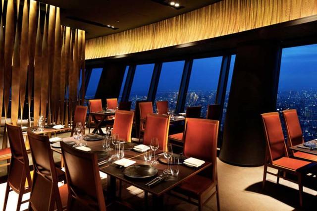 Sky Restaurant 634, Tokyo