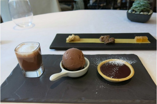 chocolate trio