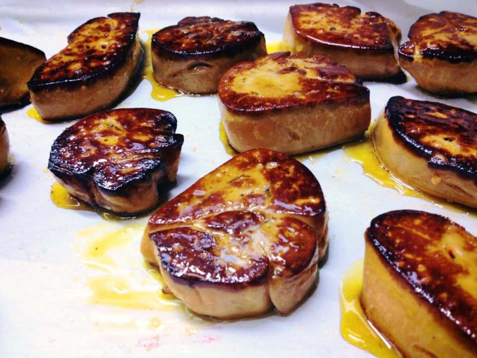 foie gras Flambar