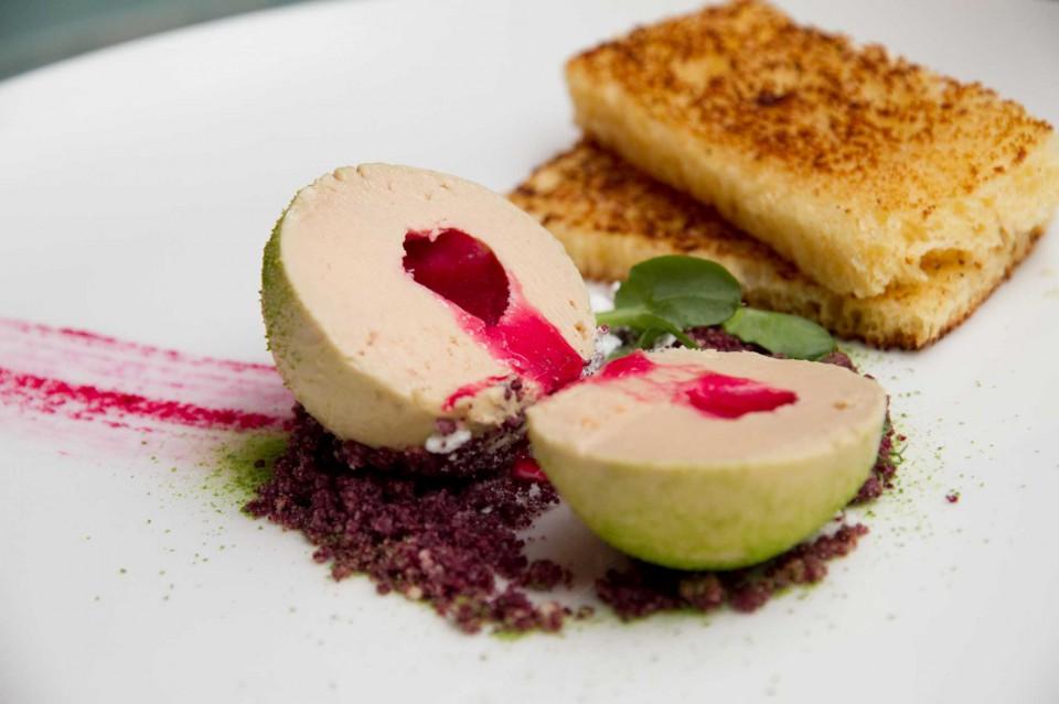 foie gras e fichi d'india