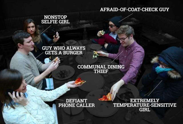 le peggiori persone al ristorante