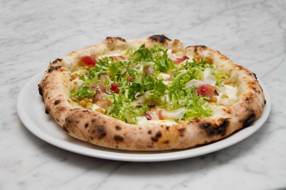 pizza con i ceci Franco Pepe