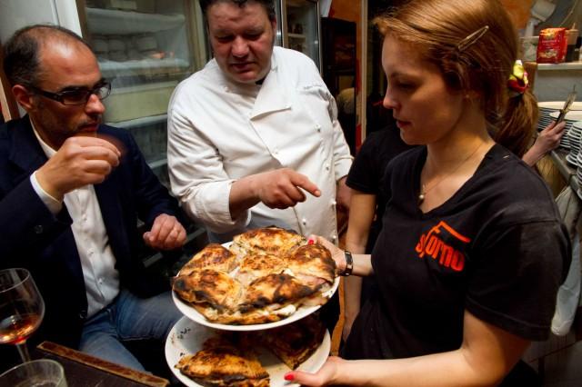 rosettone Sforno pizza