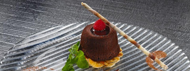 tortino tiepido al cioccolato