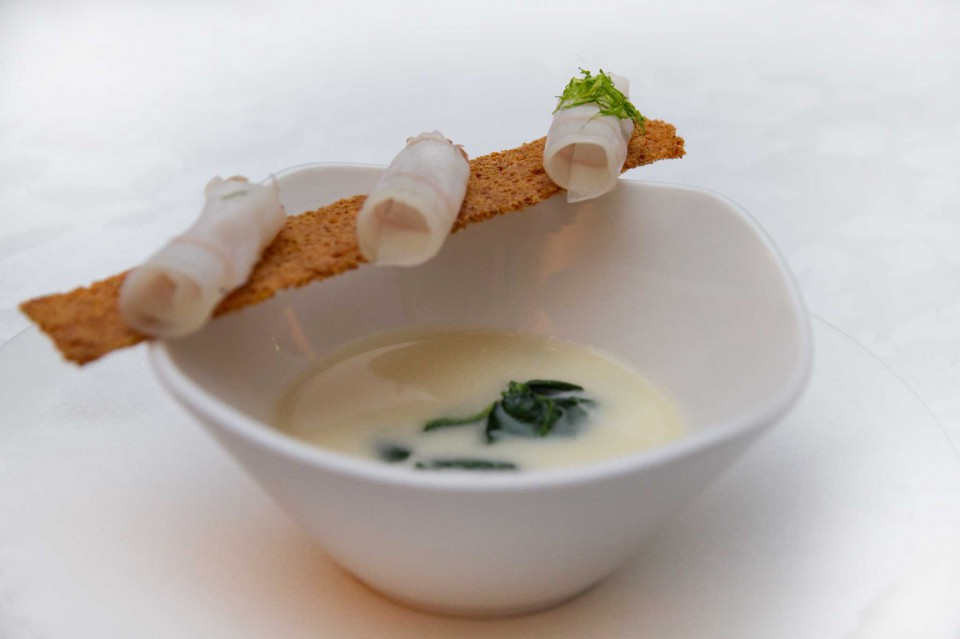 zuppa bianca