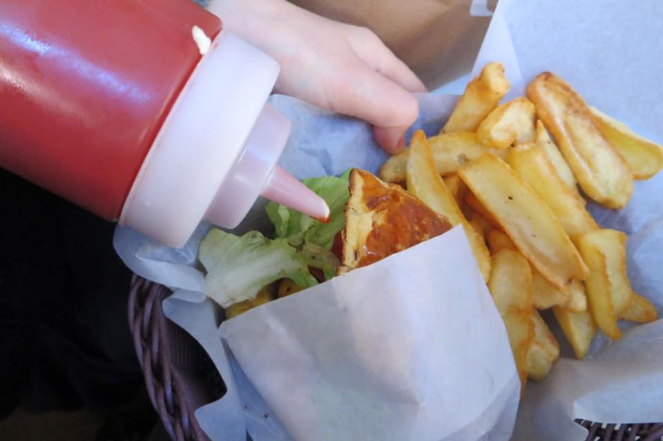 202 Hamburger biberon