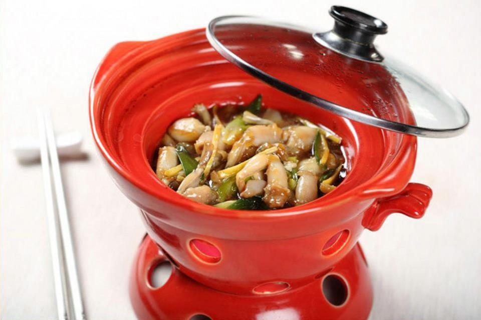 Bon Wei Fonduta di rane con verdura