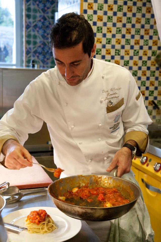 Ernesto Iaccarino spaghetti al pomodoro