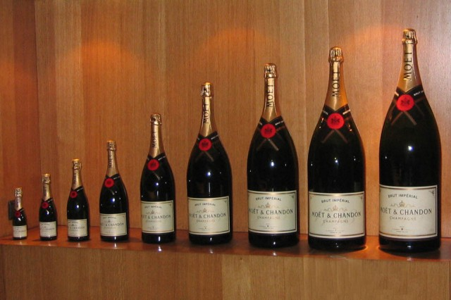 Moët & Chandon bottiglie formati
