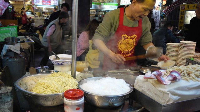Ningxia Night Market a Taipei
